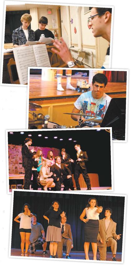 Photos courtesy Joseph Ferriero Various scenes from last year's Teen Drama