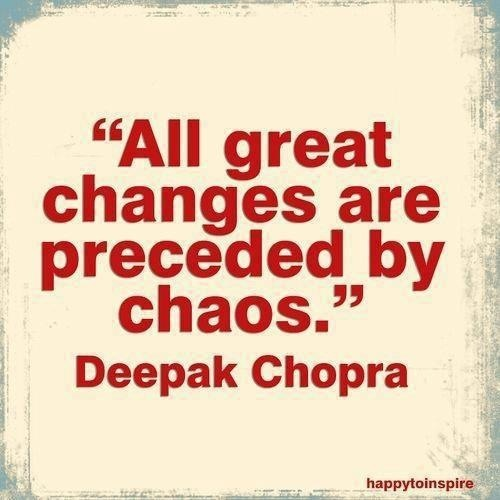 Change Is Messy