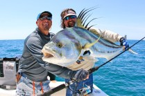 Eric and Carter with Roosterfish