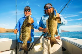 Julio and Carter with Leopard Grouper
