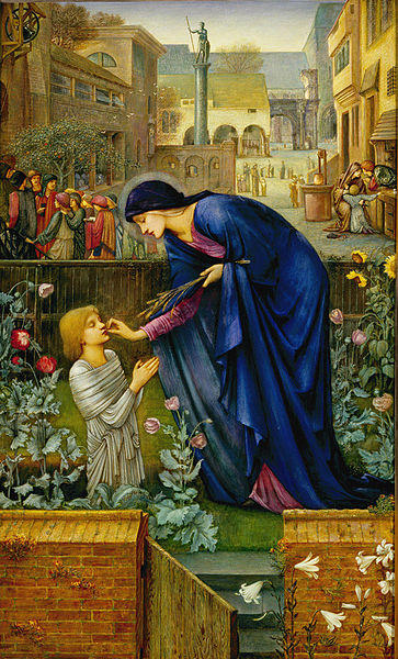 ILlustration from The Prioress's Tale