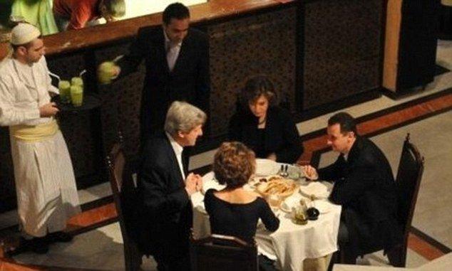 Kerry and Assad