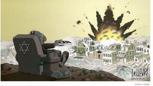 Gaza cartoon