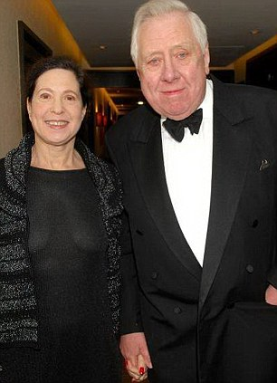 Lord Hattersley and Maggie Pearlstine