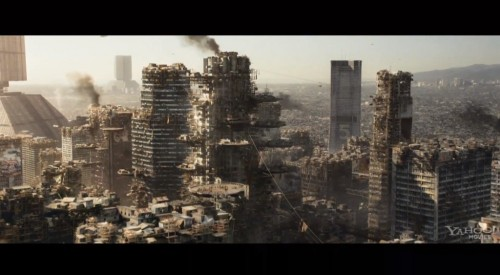 Los Angeles in 2154 as depicted in Elysium