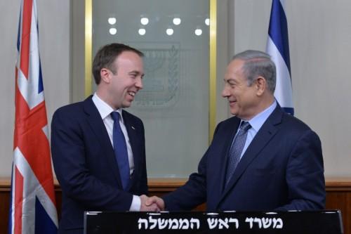 Matt Hancock: Friend of Israel, Enemy of Freedom