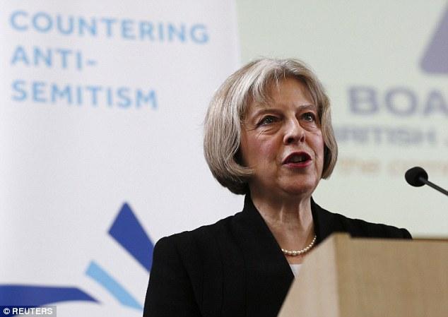 Shabbos-shiksa Theresa May