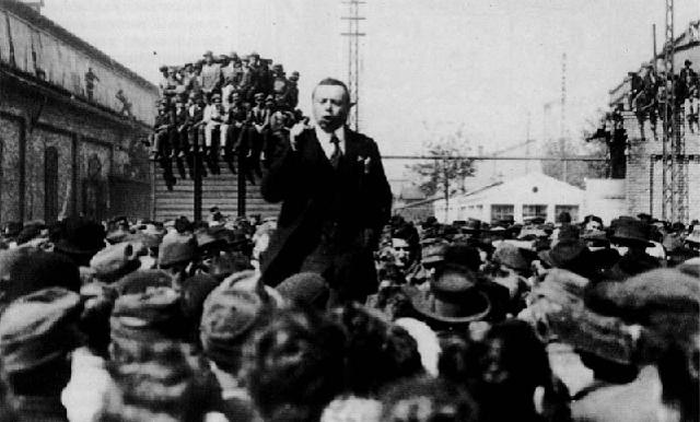 Bela Kun in 1919