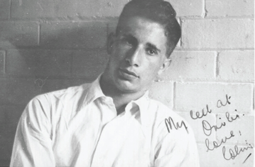 Colin Tatz in South Africa in the 1950s