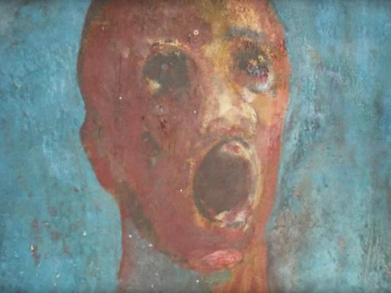 5 peintures hantées - l'homme angoissé