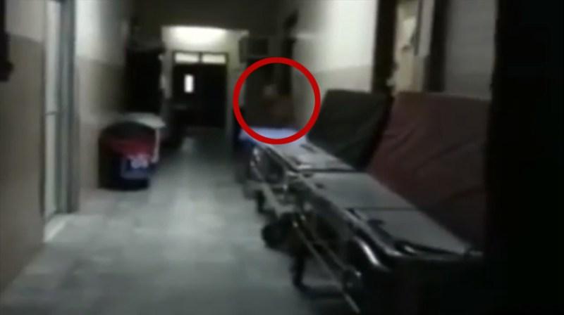 Une activité paranormale filmée à l'intérieur d'un hôpital hanté où un médecin s'est suicidé