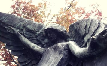 Beware the Black Angel of Oakland Cemetery
