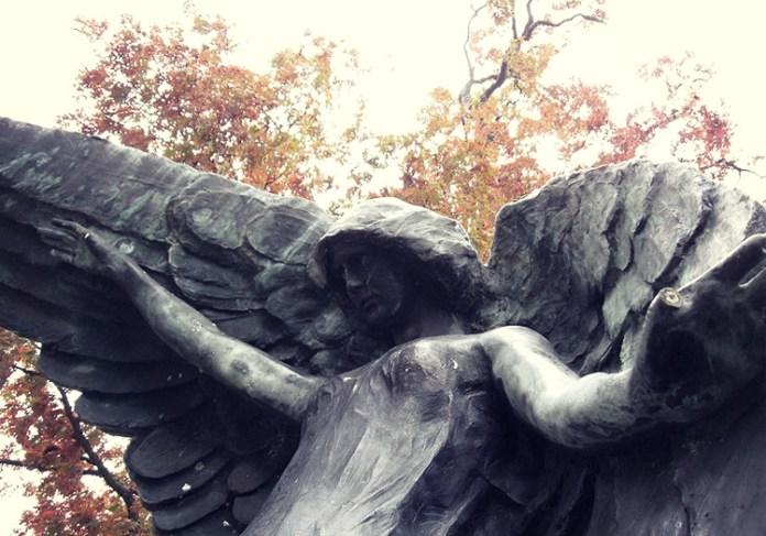 Beware the Black Angel of Oakland Cemetery