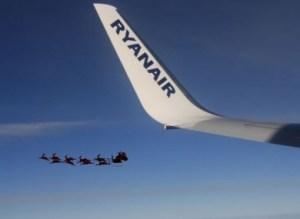ufo, santa, santa claus, christmas