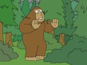bigfoot, family guy, bigfeet, sasquatch, sasquatches