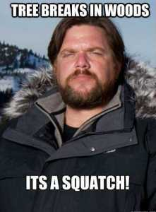 Matt Moneymaker and the BFRO will search for Sasquatch in a hot air balloon on the Animal Planet Show Finding Bigfoot