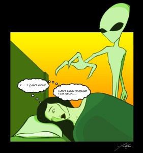 Yeah, this is pretty much how it happens. Just without the alien.