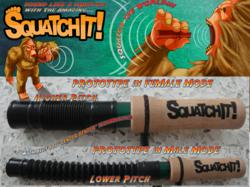 The makers of the SquatchIt Bigfoot call hope that it will help contestants on a New Spike TV show