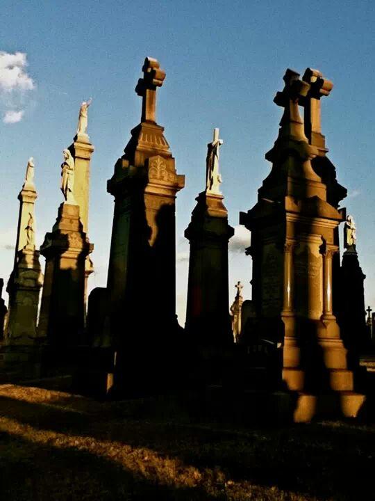 Valvary Cemetery headstones