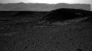 The NASA Curiosity rover on Mars takes a picture of a light and people think it's a UFO or aliens