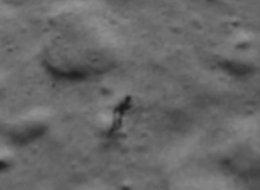 Alien on the moon