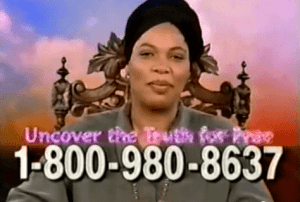 Miss Cleo, Psychic Friends Netwrok, dead of colon cancer