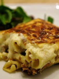 Pastitsio Recipe - macaroni de fourno- Greek Pasta Bake by Theo