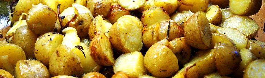Rosemary Roasted Potatoes – new potatoes roasted with rosemary recipe