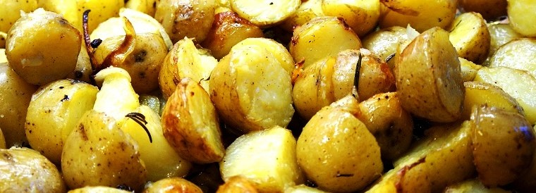 Rosemary Roasted Potatoes – new potatoes roasted with rosemary recipe