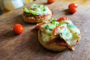 Crumpet pizza recipe Theo Michaels