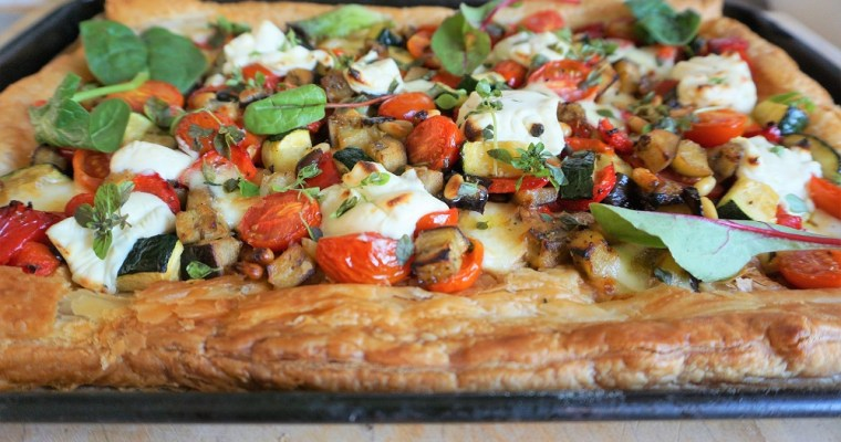 Puff Pastry Pizza – easy cheese tart