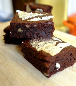 Antique Chocolate Brownies Recipe by Theo Michaels