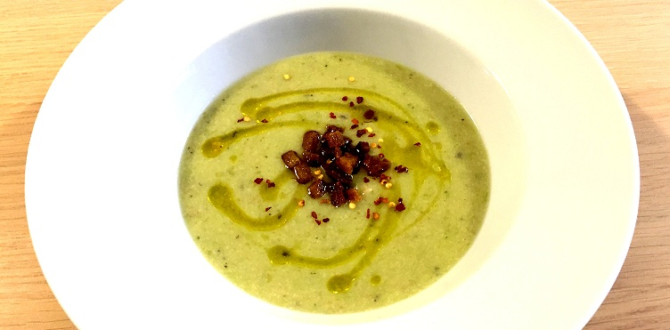 Asparagus Potato Soup | Gluten Free Soup Recipe