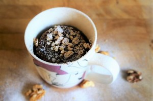 Christmas Mug Cake Recipe by Theo Michaels - Mcirowave Mug Meals