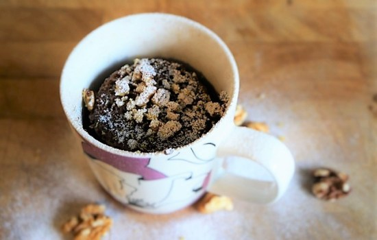 Mug Cake Recipe – Christmas Pudding in a mug as seen on ITV This Morning | Christmas Recipes