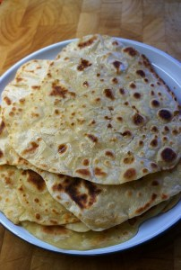 Easy Flatbread recipe without yeast (no yeast) and just two ingredients by Theo Michaels