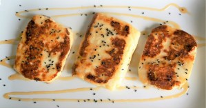 Fried Halloumi with Honey Recipe by Theo Michaels