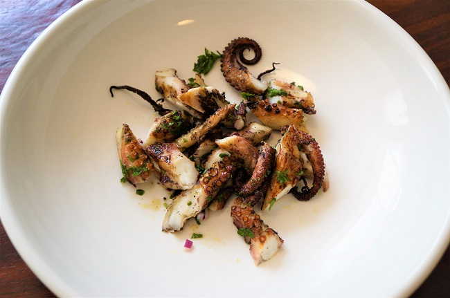 Grilled Octopus - how to cook tender crispy octopus