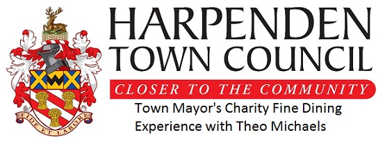 Harpenden Town Mayor's Fine Dining Night with Theo Michaels (that's me!)