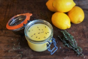 Lemon Curd Recipe by Theo Michaels (lemon and thyme curd)