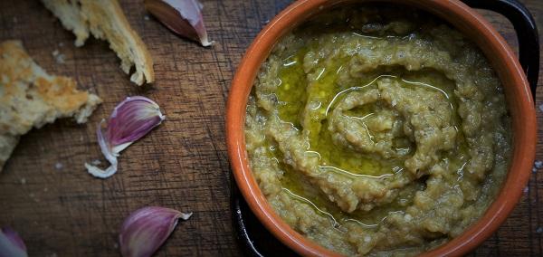 Melitzanosalata – the famous Greek aubergine dip