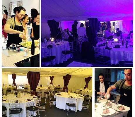 Biggest Private Dining to date – 63 black tie event! BOOM!