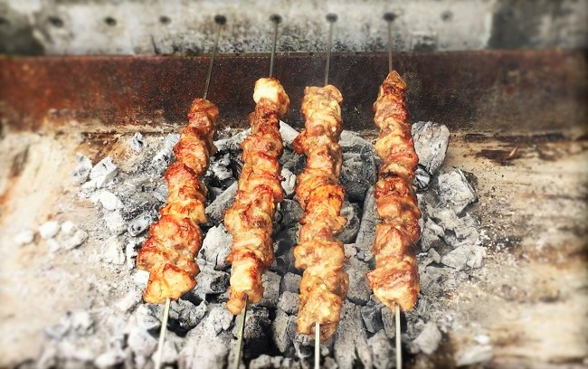Pork Souvlaki – How To Cook Pork Souvlaki (Cypriot BBQ)