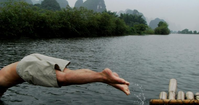 River rafting in Yangshuo and the Pet Stir-Fry I can't mention.. | Backpacking through China