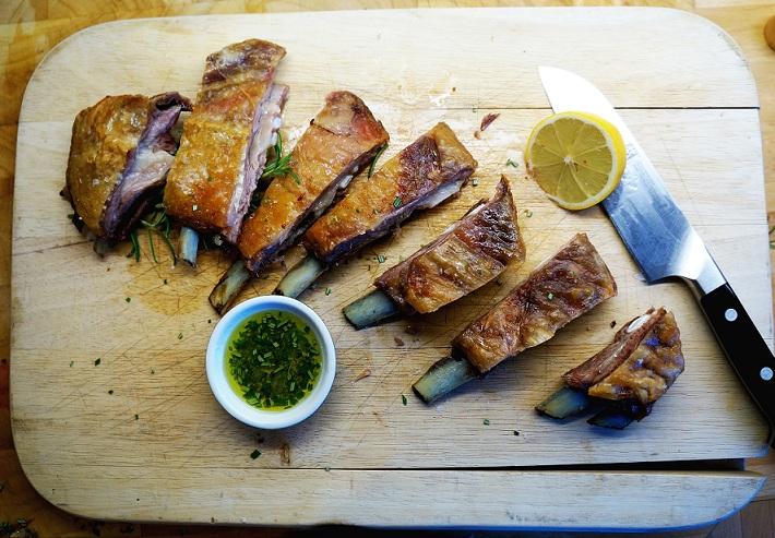 Lamb Ribs Recipe with my Greek Marinade for Lamb