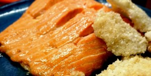 salt baked fish, Salt crusted salmon, salt baked salmon recipes by Theo Michaels
