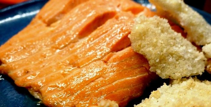 Salt Baked Fish | Salmon Recipes | Salt Dough Recipe