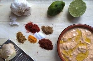 Tandoori Marinade - Tandoori Paste Recipe Ingredients by Theo Michaels
