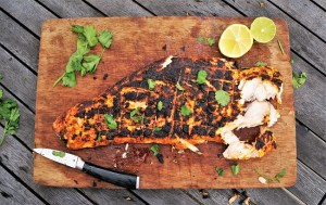 Tandoori Salmon Recipe - Salmon Marinade Recipe by Theo Michaels