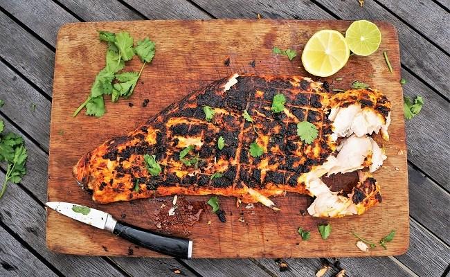 Tandoori Salmon Recipe | Salmon Marinade Recipe